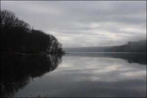 Beauty of Farlain Lake.1st - Mist of Time - Beverley Macdonald