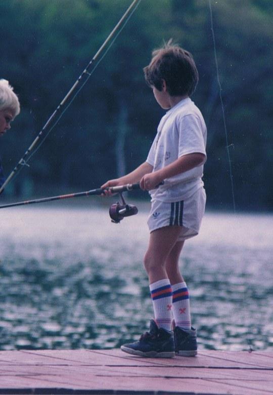 Fishing on Farlain Lake