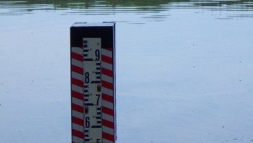 High water Level – Gauge Installed Near Boat Launch